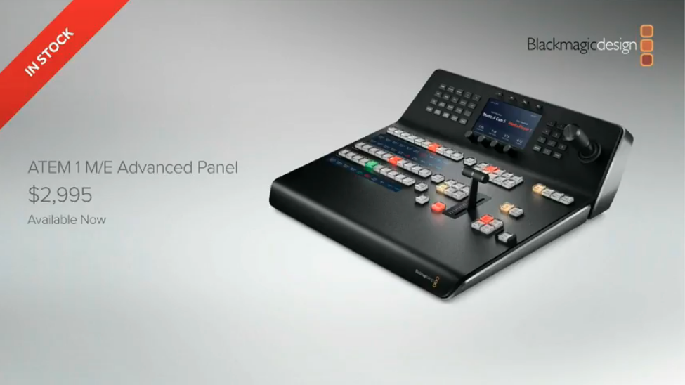 Blackmagic Design Atem Television Studio Production Switcher Review