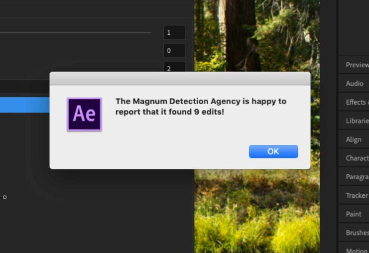 Magnum from AE Scripts - Magnum Detection Agency