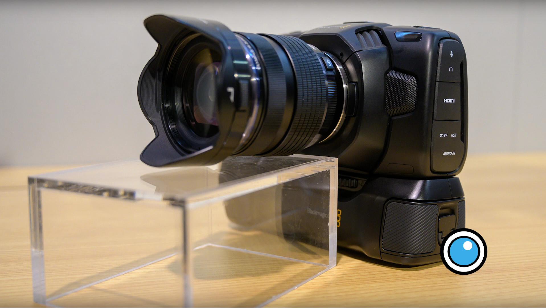 NAB 2019: Battery Grip for Blackmagic Pocket Cinema Camera 4K