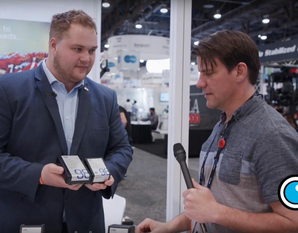 NAB 2019: Bebob shows off their V-Mount Micro Batteries 1