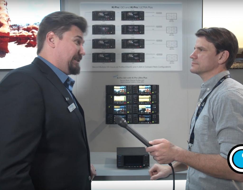 NAB 2019: AJA Ki Pro GO Multi-Channel H.264 Recorder/Player 1
