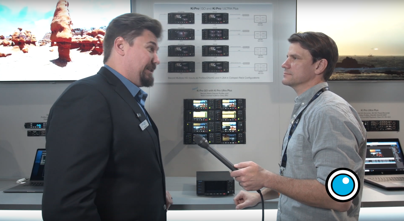 NAB 2019: AJA Ki Pro GO Multi-Channel H.264 Recorder/Player by Brian Hallett
