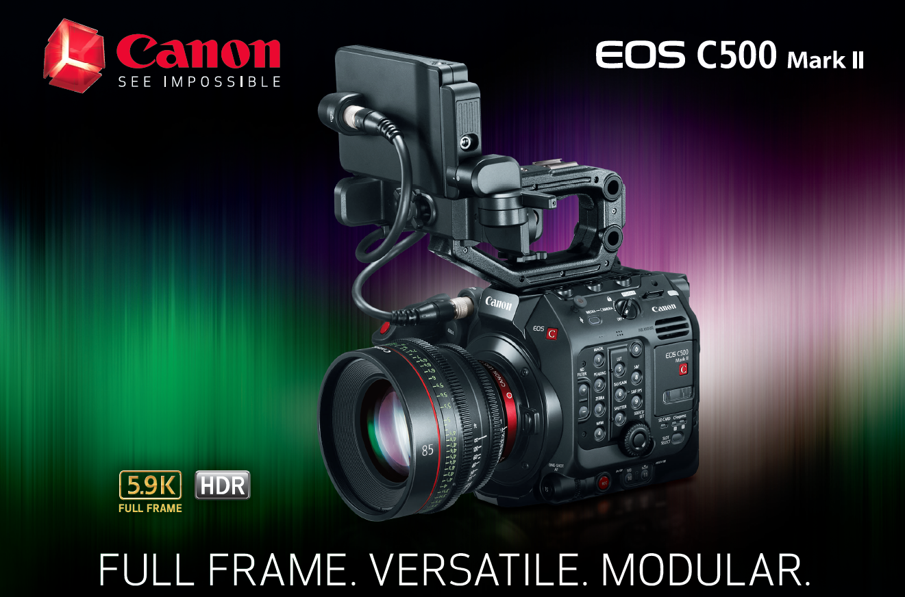 Canon Announces C500 Mark II 5.9K Full-Frame Camera 2