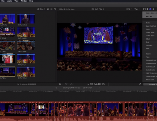10 Tips for Multicam Editing in Final Cut Pro X 1