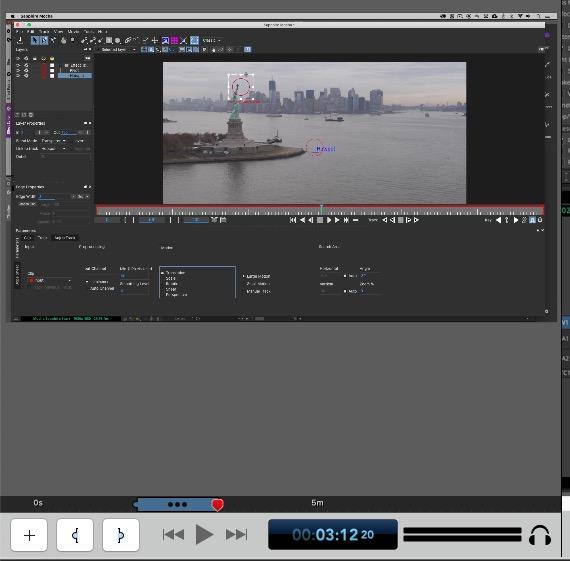 ScreenFlow 9 Clip Editor