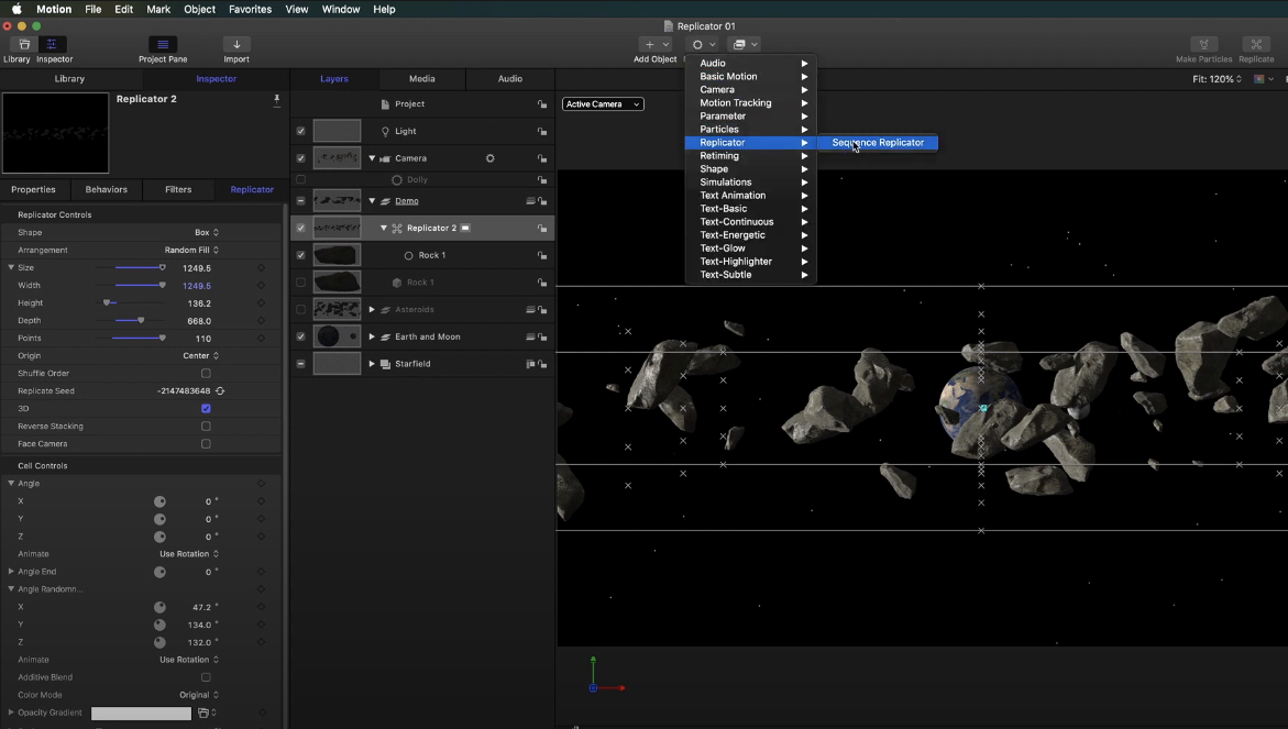 Replicating and Animating 3D Models in Motion by Mark Spencer - ProVideo Coalition