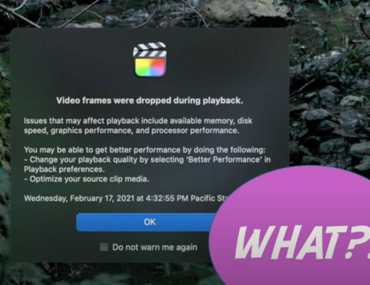 Using Camera-Generated Proxies in Final Cut Pro 11