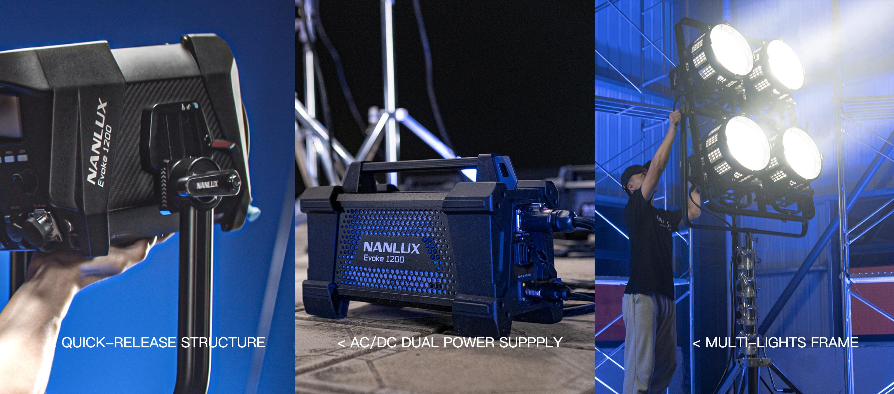 NANLUX EVOKE 1200 LED SPOTLIGHT ANNOUNCED 7