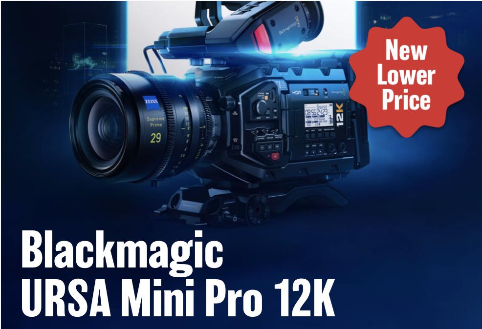 Blackmagic Drops Price for the URSA Mini Pro 12K to $5995 3