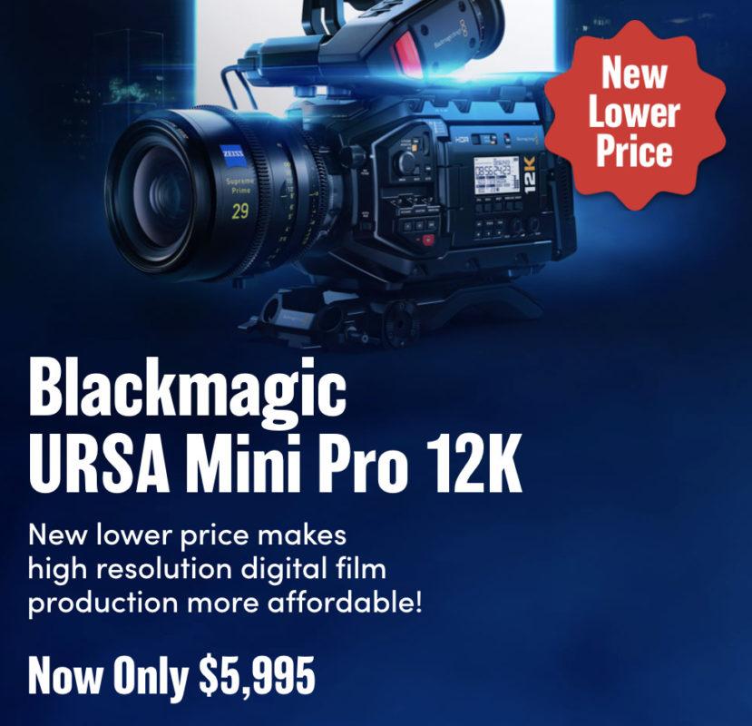 12K URSA Mini Pro