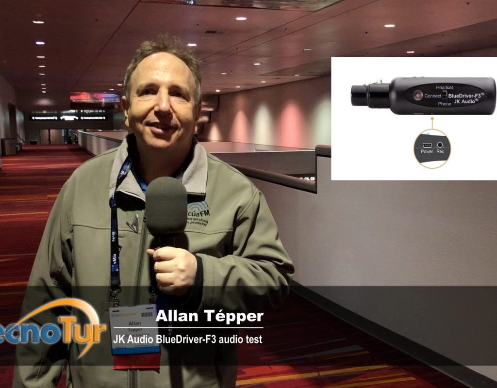 Review: JK Audio BlueDriver-F3 wireless Bluetooth transceiver for ENG 11