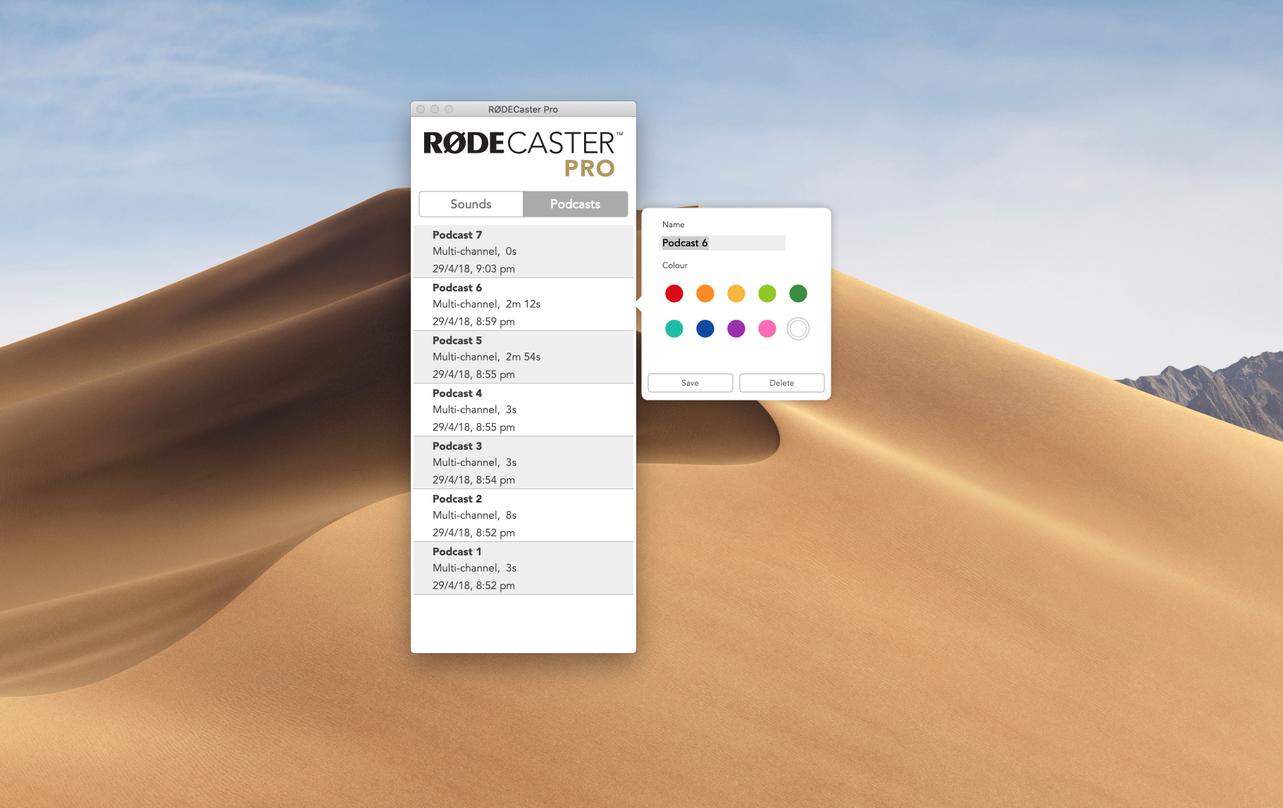 RØDECaster firmware 1.2.0 adds multitrack polyWAV to microSD + more 9