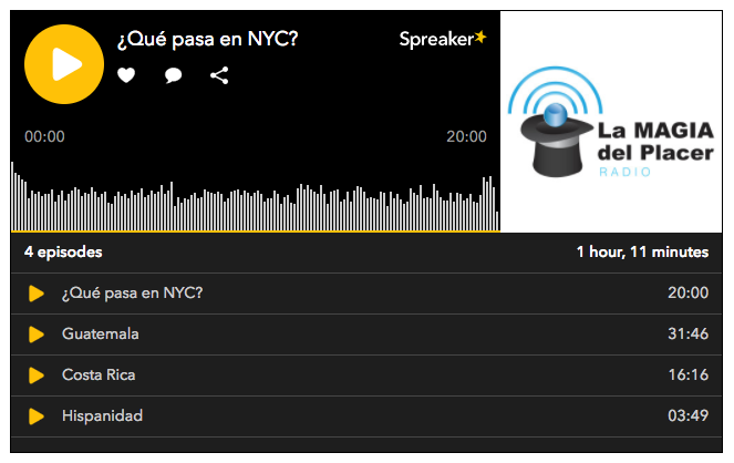 Spreaker platform for the new radio: compelling features + my suggestions 27