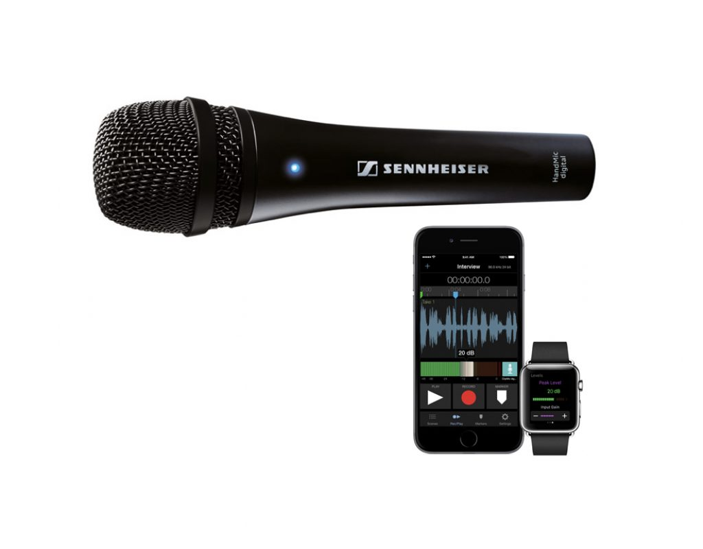 "Review: Sennheiser HandMic Digital with ""secret"" hardware limiter 1"