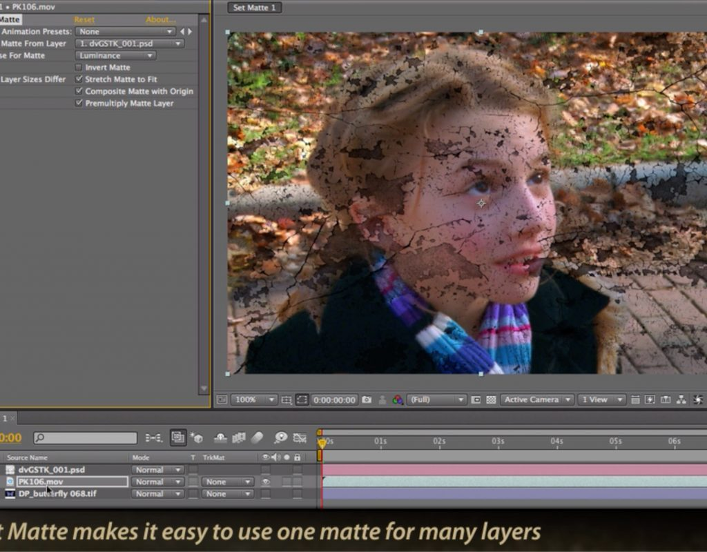 After Effects Classic Course: Set Matte versus Track Matte 33