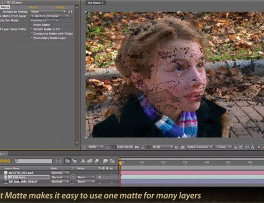 After Effects Classic Course: Set Matte versus Track Matte 7