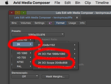 CREATING YOUR OWN DCP'S - MEDIA COMPOSER SETUP 2