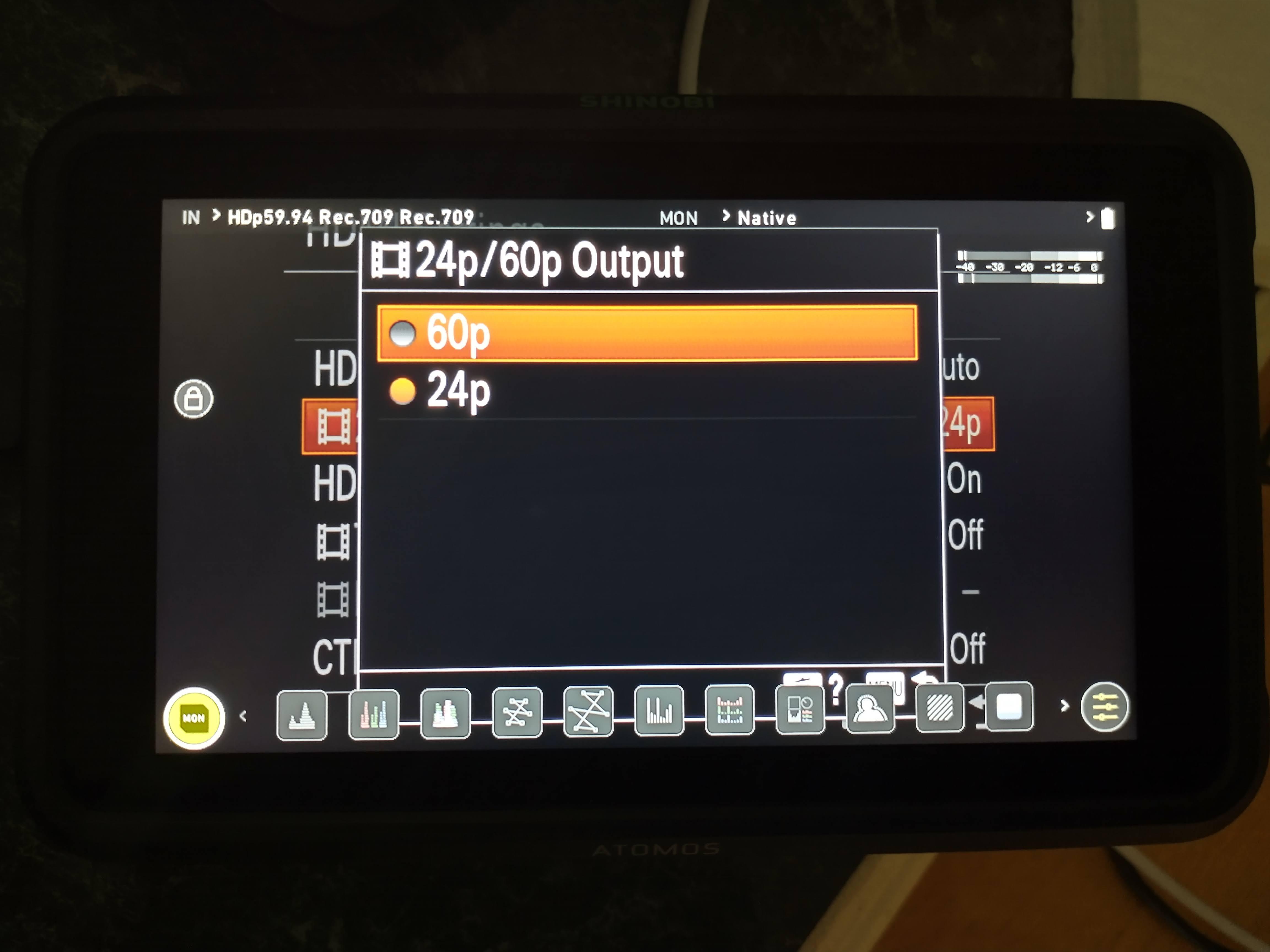 Sony ZV-1 camera framerate shyness + outgoing modes via HDMI & USB 20