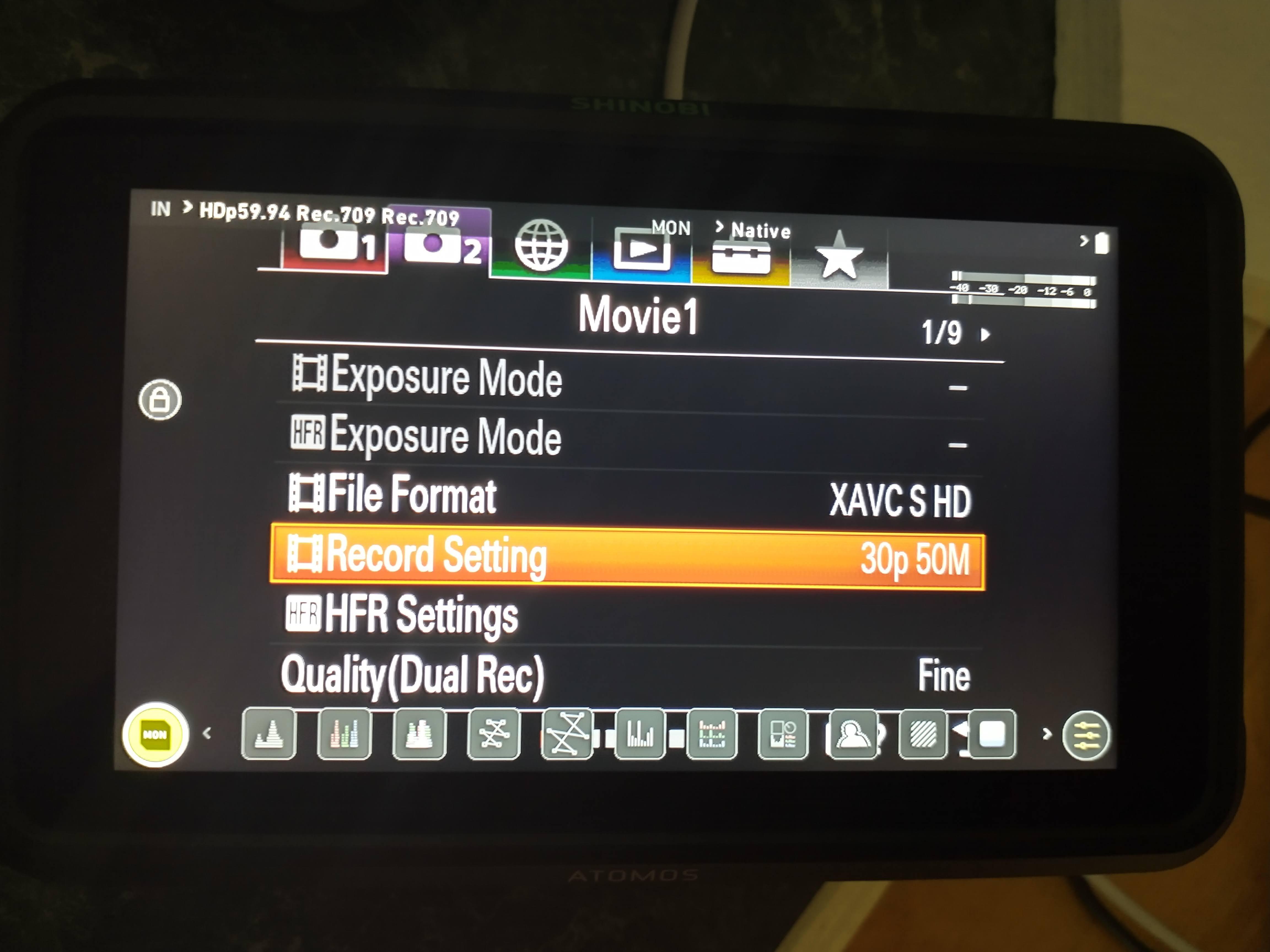 Sony ZV-1 camera framerate shyness + outgoing modes via HDMI & USB 18