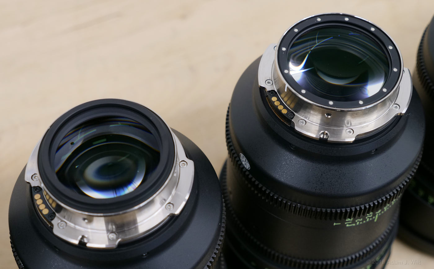 Signature Primes with net holder on and off