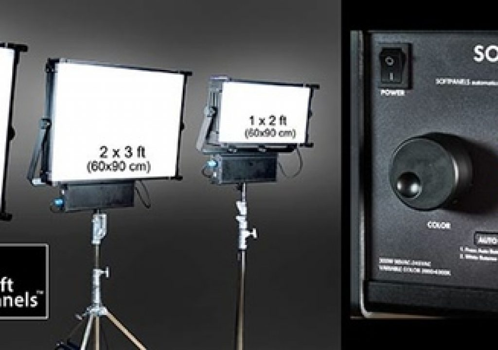NAB 2016: SoftPanels LEDs with built-in color metering 2