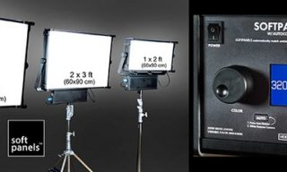 NAB 2016: SoftPanels LEDs with built-in color metering