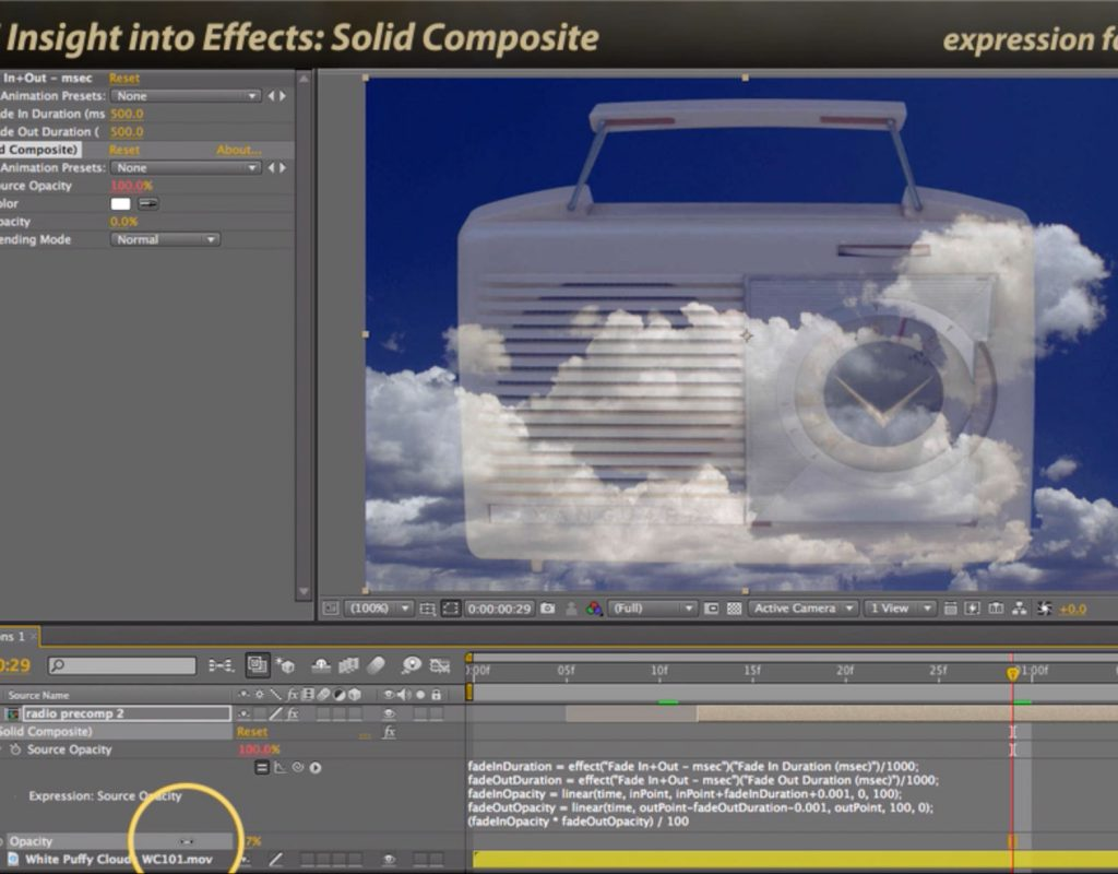 After Effects Classic Course: Solid Composite 1