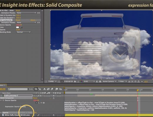 After Effects Classic Course: Solid Composite 7