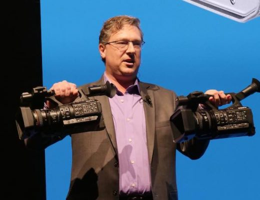 Peter Crithary shows two new Handycams