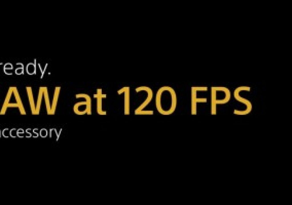 Sony Teases 120fps for F55 1
