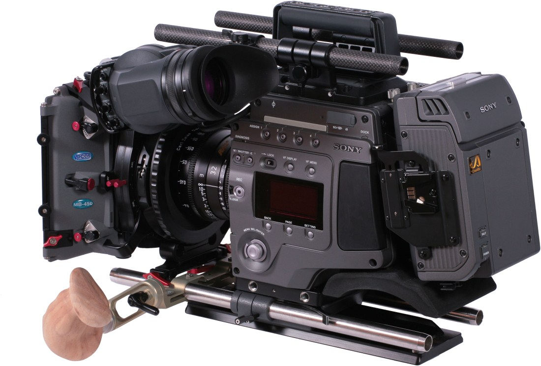 Sony F65 Vocas rear