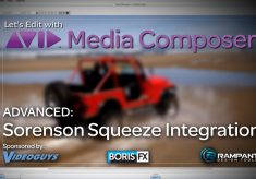 Let's Edit with Media Composer – Sorenson Squeeze Integration