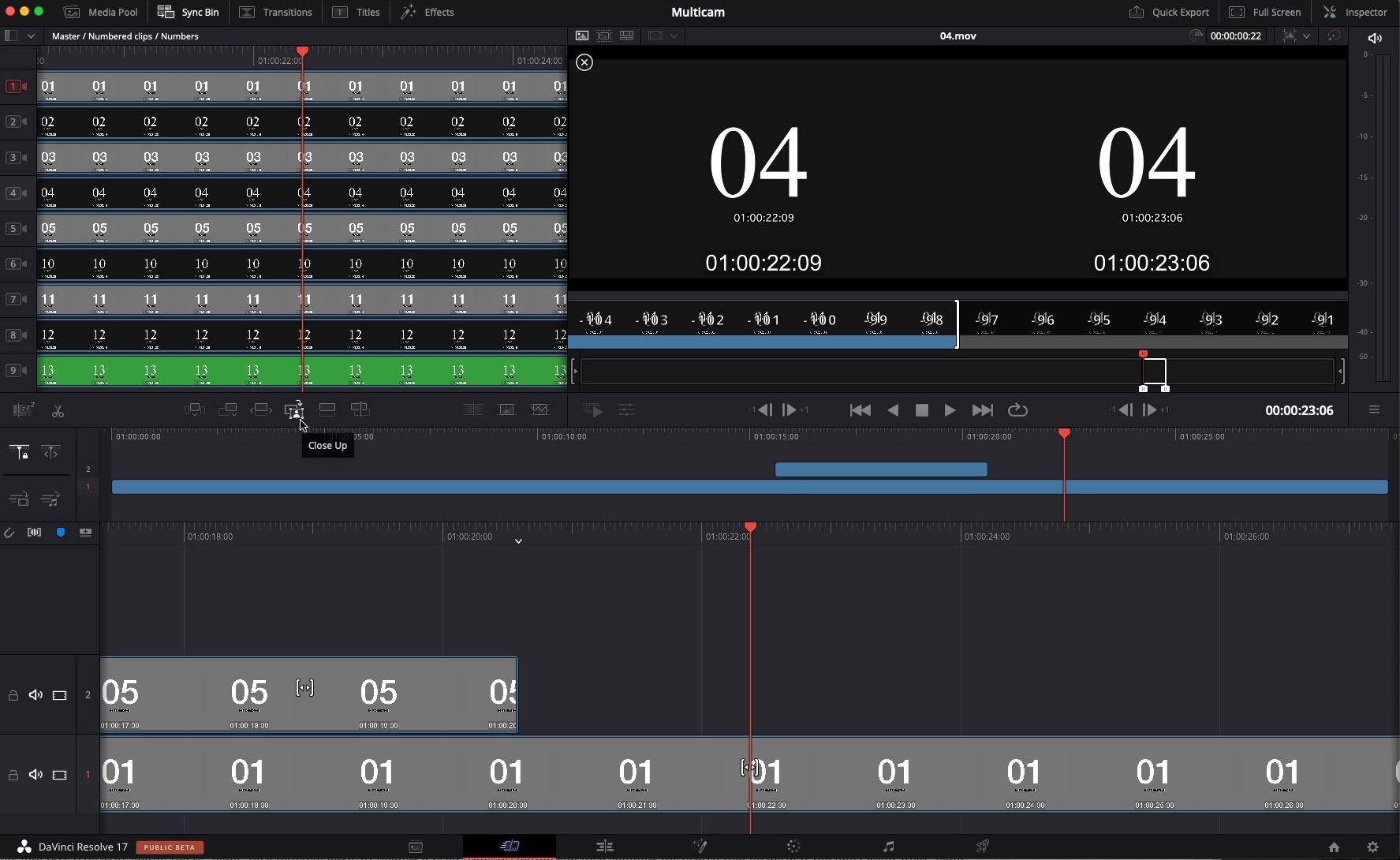 Review: DaVinci Resolve Speed Editor Part 2 - Multicam and Multi-camera Editing 70