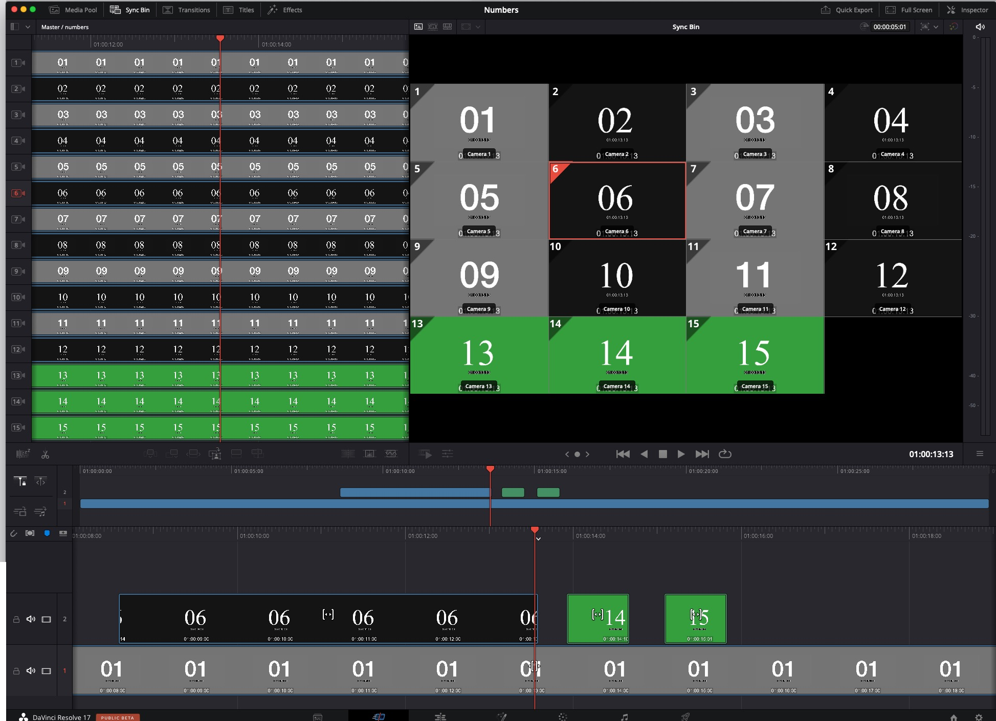 Review: DaVinci Resolve Speed Editor Part 2 - Multicam and Multi-camera Editing 54
