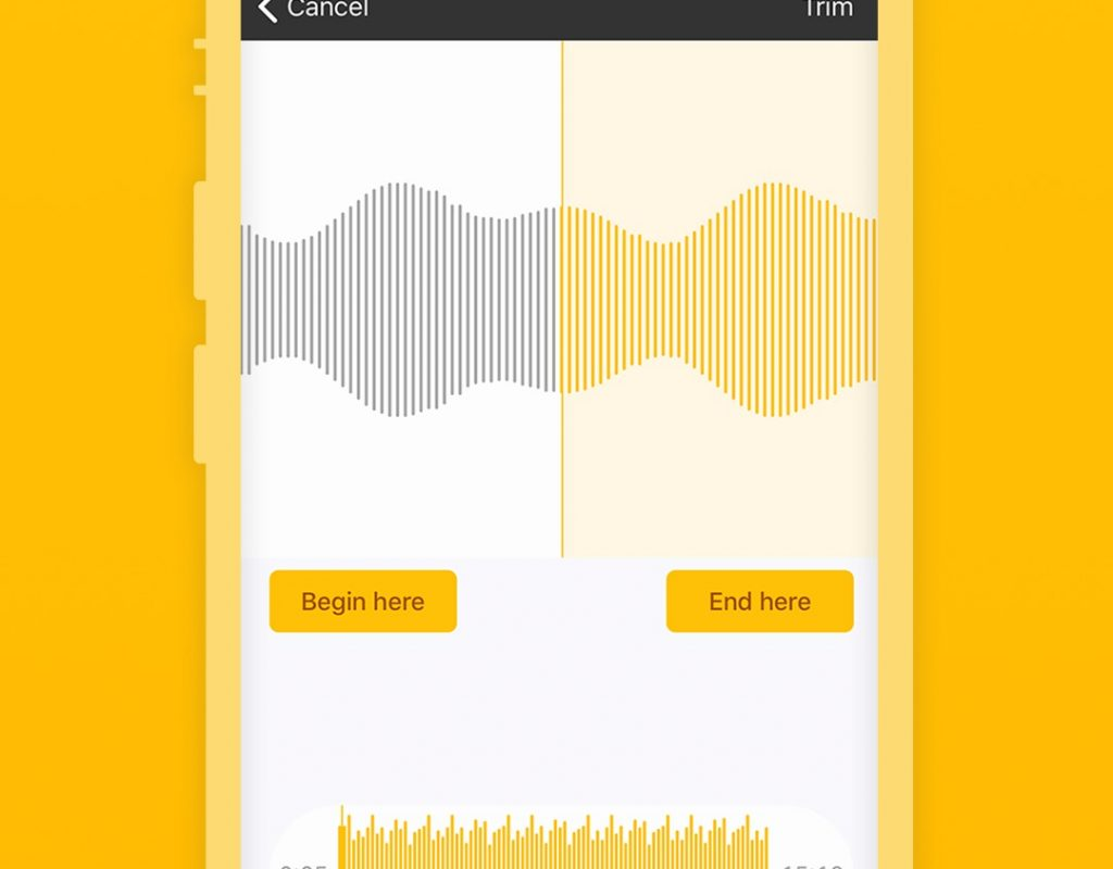Spreaker Studio for iOS adds trimming capability 9