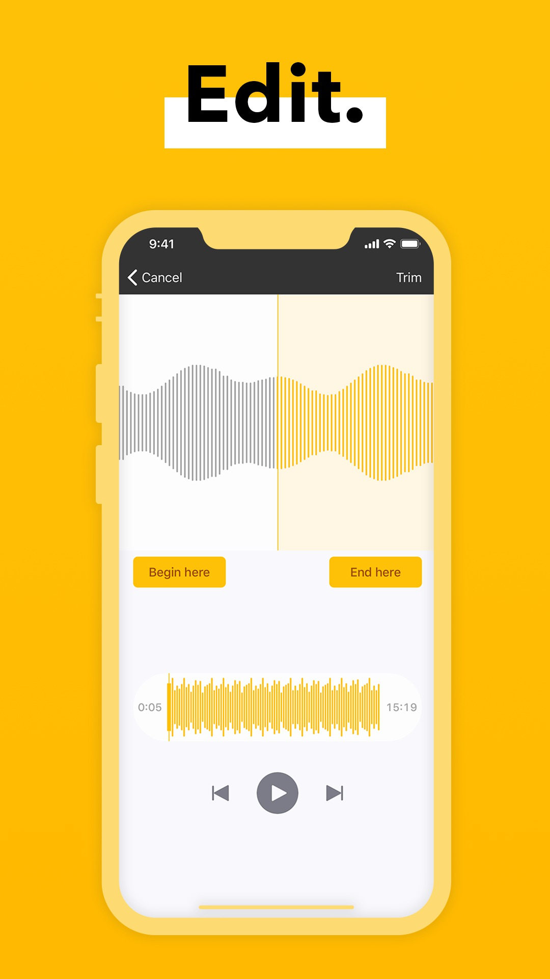 Spreaker Studio for iOS adds trimming capability 13