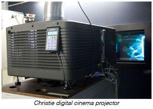 Christie digital cinema projector
