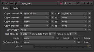 copy hair matte- properties