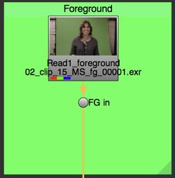 Foreground read node