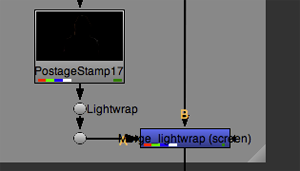 lightwrap enabled