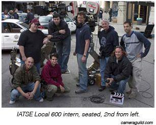 IATSE Local 600 intern