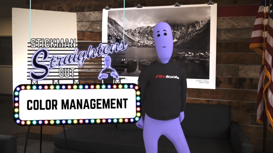 Stickman Straightens Out...Color Management 4