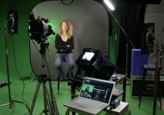 ScopeBox Software with the Reflecmedia LED Green Screen System