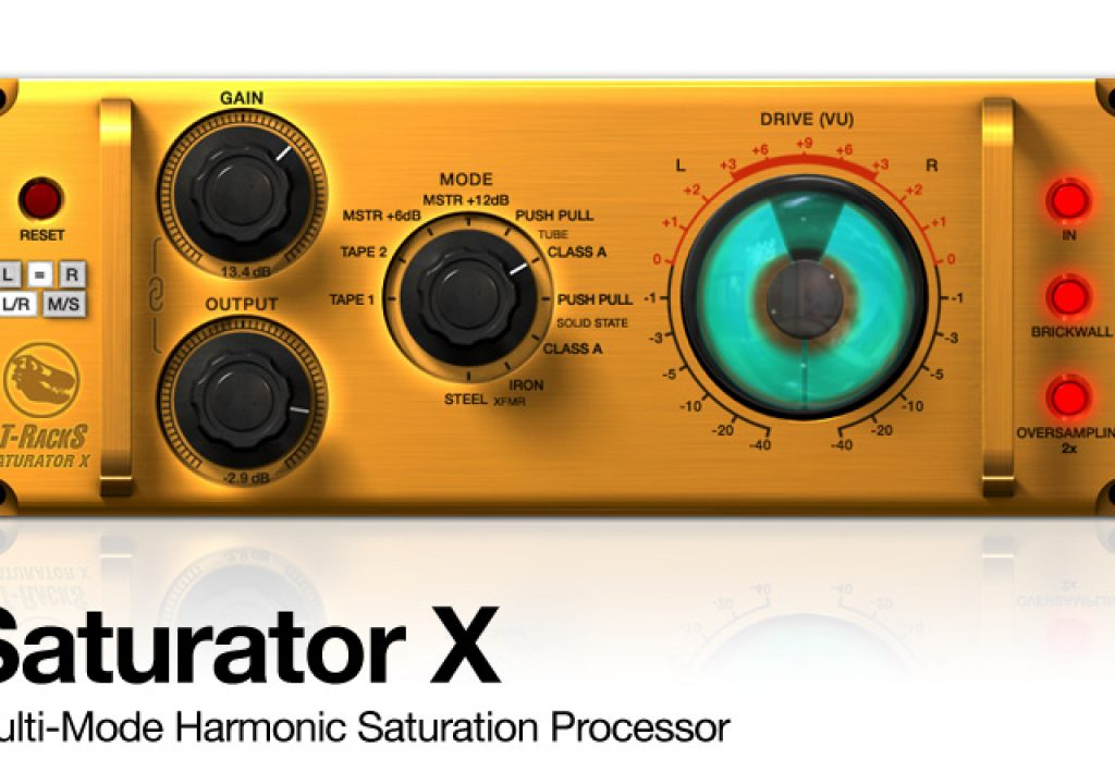 First look: T-RackS Saturator X for Mac/Windows from IK Multimedia 2