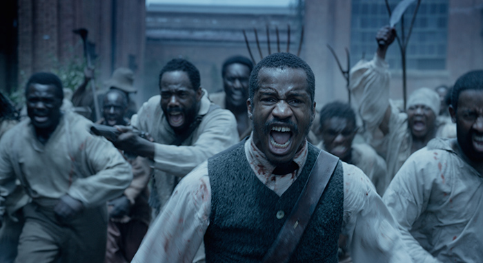 """Nate Parker as """"Nat Turner"""" in THE BIRTH OF A NATION. Photo courtesy of Fox Searchlight Pictures. © 2016 Twentieth Century Fox Film Corporation All Rights Reserved"""