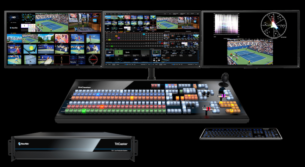 TriCaster TC1: 4K UHD, IP-centric & worldcam friendly even in US 12