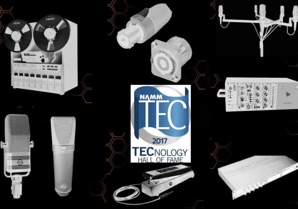 Sound inventions inducted to the TECnology Hall of Fame