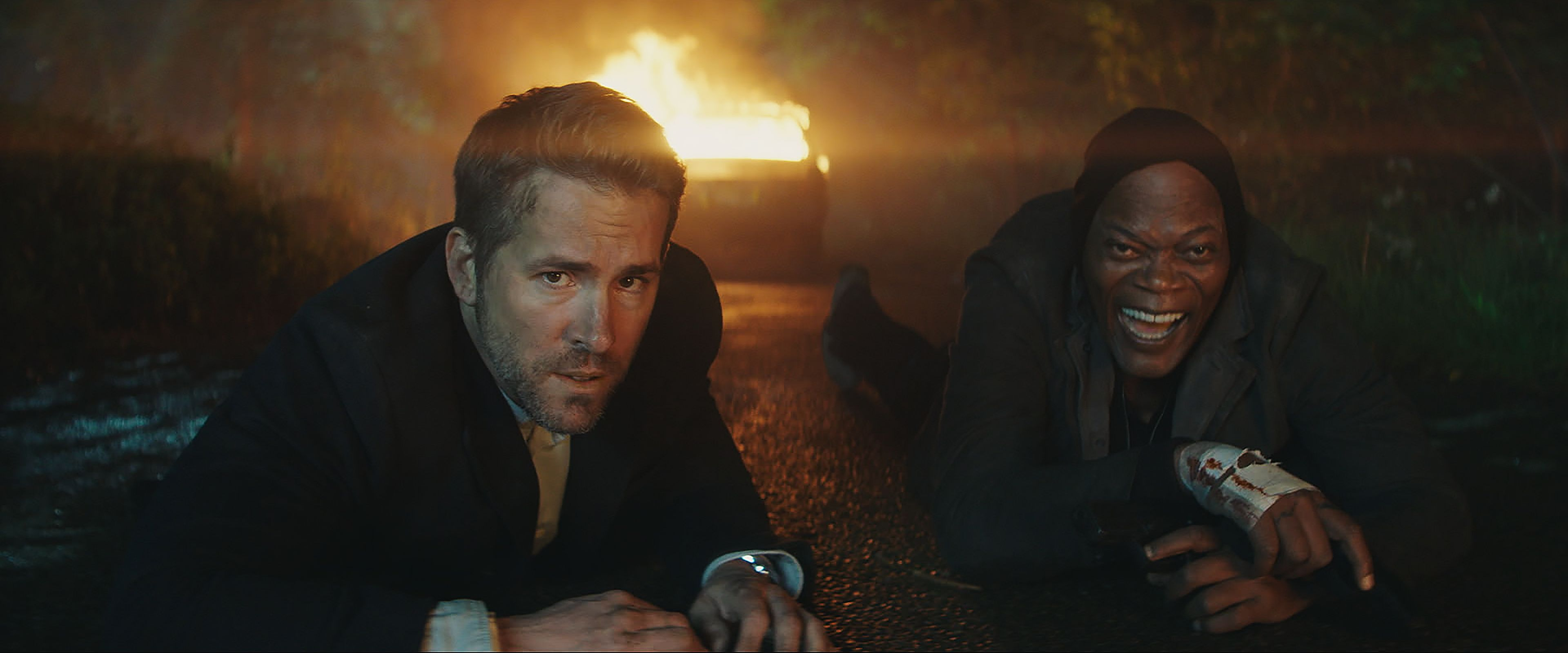 """ART OF THE CUT with Jake Roberts, ACE on """"Hitman's Bodyguard"""" 4"""