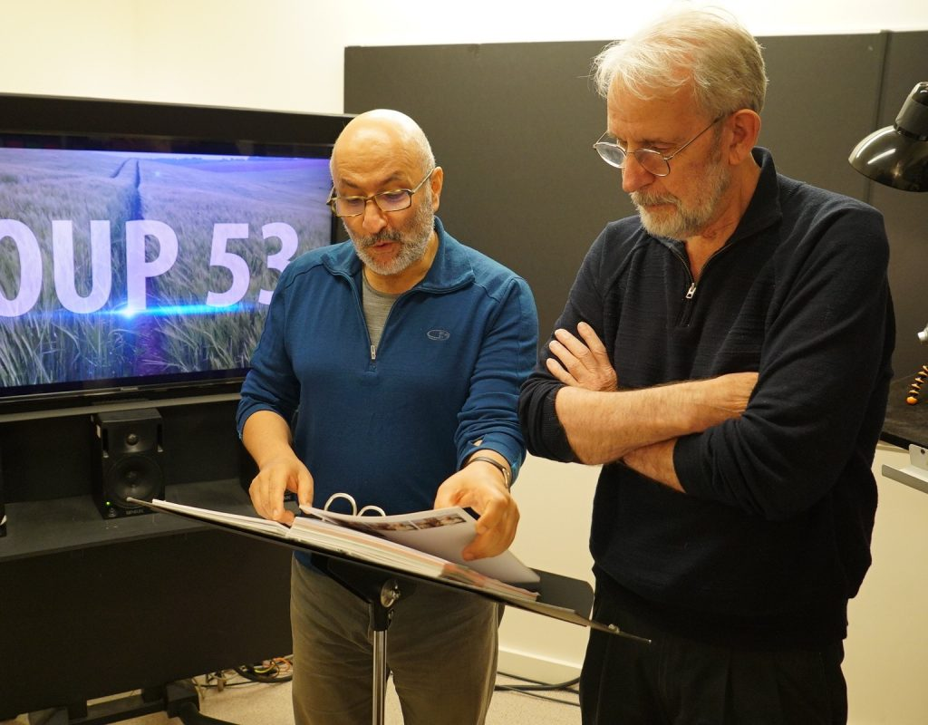 "ART OF THE CUT with Walter Murch, ACE, on editing ""Coup 53"" 1"
