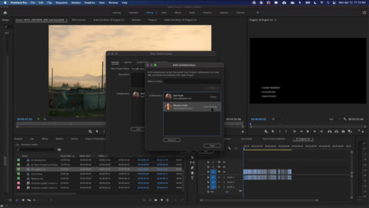 Interfaz de Premiere Pro